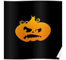 Pumpkin Angry Poster