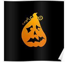 Pumpkin Scared Poster
