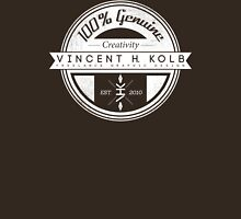 Vincent H. Kolb Promo Design- White Unisex T-Shirt