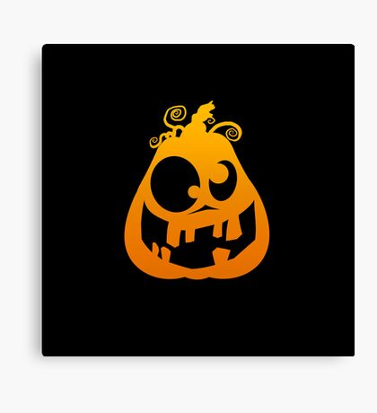 Pumpkin Goofy Canvas Print
