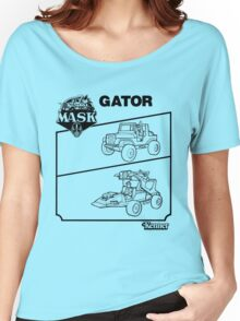 M.A.S.K. - Gator Women's Relaxed Fit T-Shirt