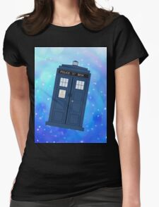Phone Box Womens Fitted T-Shirt