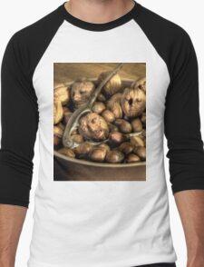 We're all nuts #2 Men's Baseball ¾ T-Shirt