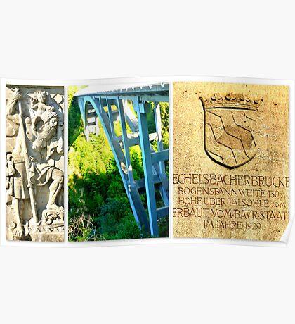 Echelsbacher Brücke Poster