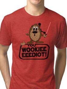 Wookieeeeediot Tri-blend T-Shirt