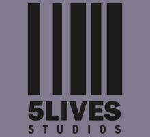 5 Lives Studios Black by 5LivesStudios