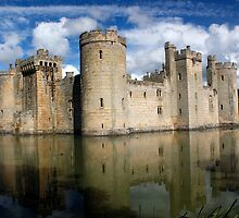 Bodiam Castle by jwwallace
