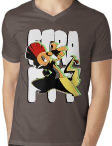 #560 Scrafty Mens V-Neck T-Shirt