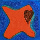 Star with a heart by Jan Carlton