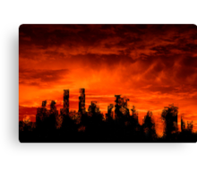 The end of days Canvas Print