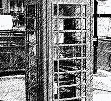 Phone booth by MikeHermesArt