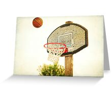 Basketball Greeting Card