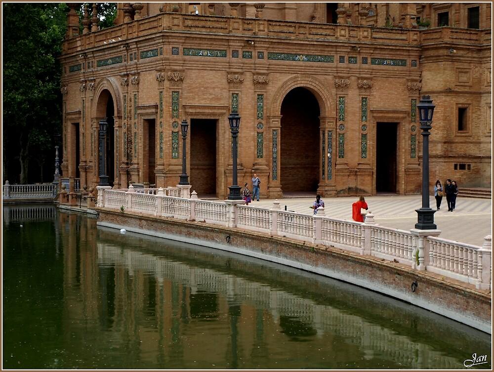 Plaza de Espana by Janone