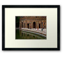 Plaza de Espana Framed Print