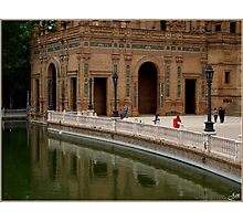 Plaza de Espana Photographic Print