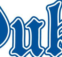 Duke Basketball Sticker