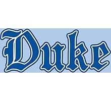 Duke Basketball Photographic Print