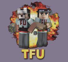 Team Force Update's T-Shirt & Stickers (3D) Kids Tee