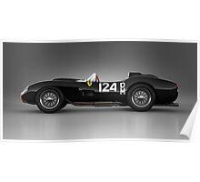 Ferrari 250 Testa Rossa - Rosette Poster