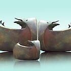 The duck family by Ruud van Koningsbrugge