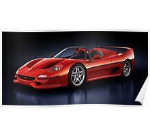 Ferrari F50 - Phantasm Poster