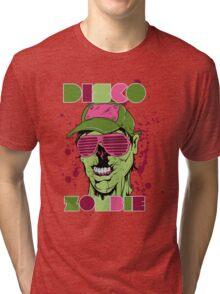 Disco zombie Tri-blend T-Shirt