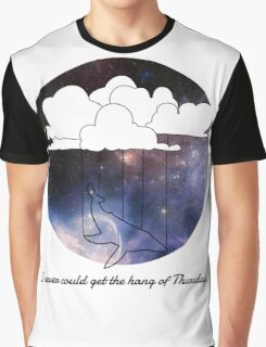 Hitchhiker's Guide Whale Graphic T-Shirt