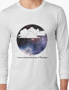 Hitchhiker's Guide Whale Long Sleeve T-Shirt