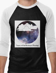 Hitchhiker's Guide Whale Men's Baseball ¾ T-Shirt