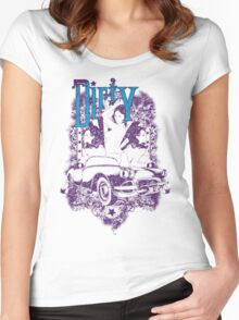 Dirty girl Women's Fitted Scoop T-Shirt