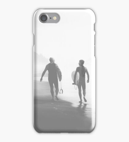 Surfers bond iPhone Case/Skin