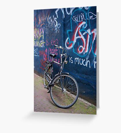 Bicycle #3- Amsterdam Greeting Card