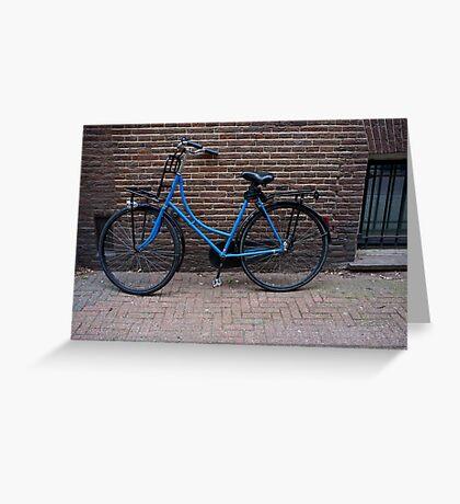 Bicycle #4- Amsterdam Greeting Card