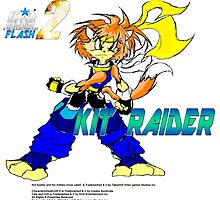 Kit Raider (Kid Soldier Flash 2) Poster by TakeshiUSA
