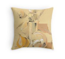 Still life with mushroom Throw Pillow