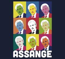 Assange (Dark) Kids Tee