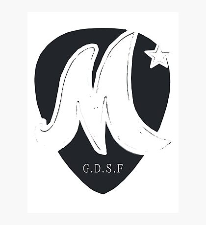 McFly Plectrum Design! Photographic Print