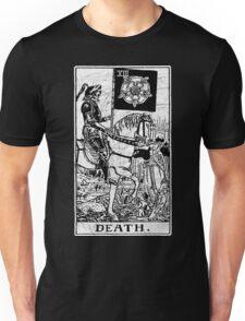 Death Tarot Card - Major Arcana - fortune telling - occult Unisex T-Shirt
