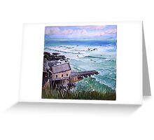 Lizard Point, Cornwall Greeting Card