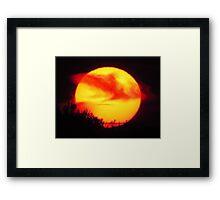 Ra the Sun God Framed Print