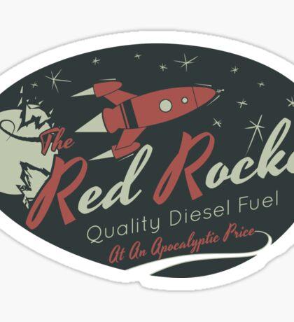 Red Rocket Sticker