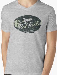 Red Rocket Mens V-Neck T-Shirt