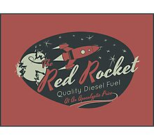 Red Rocket Photographic Print