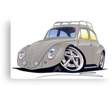 VW Beetle (Custom D) Canvas Print