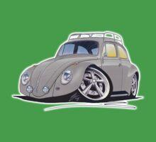 VW Beetle (Custom D) Kids Tee