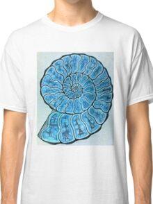 Blue Ammonite Classic T-Shirt