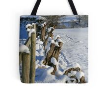 Snow in the Lakes Tote Bag
