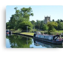A tranquil scene Canvas Print
