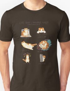 Cat Body Language Guide T-Shirt