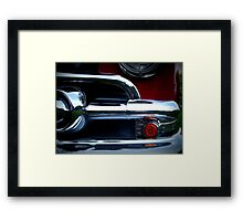 Classic Car in Red Framed Print